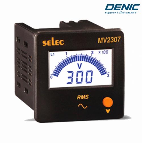 Đồng hồ đo điện áp volt LCD - MV2307 (72x72)