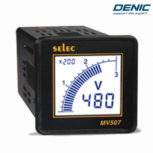Đồng hồ đo điện áp volt LCD MV507 (48x48)