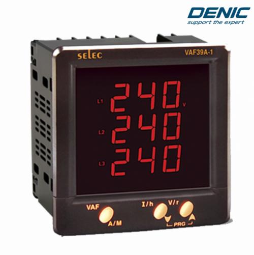 Đồng hồ đo Volt, Ampe, Hz điện tử VAF39