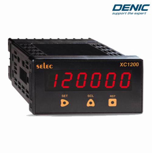 Hiển thị tốc độ và đếm tổng - XC1200 (48x96)