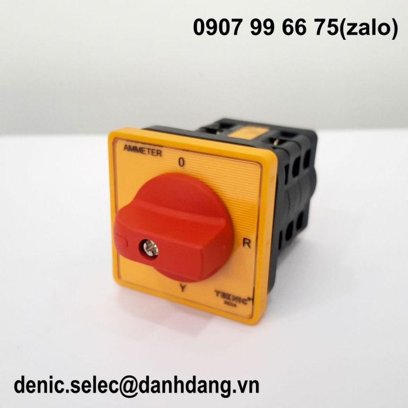 Công tắc chuyển mạch 4 vị trí Ampe R6R33964Y