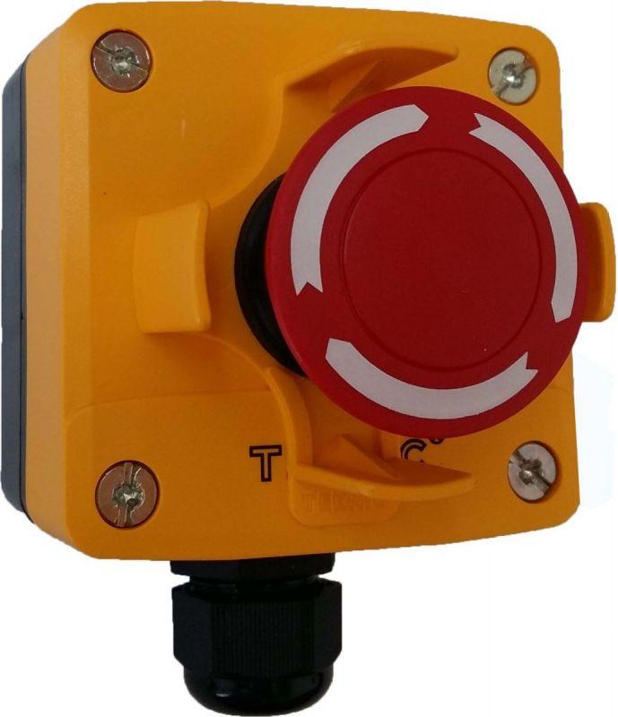Hộp nút dừng khẩn cấp có bảo vệ
