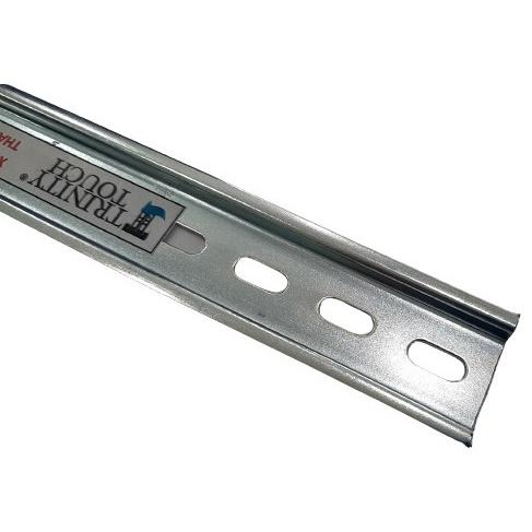 Thanh rail đục lỗ 35/7.5, dài 1m, dày 1mm
